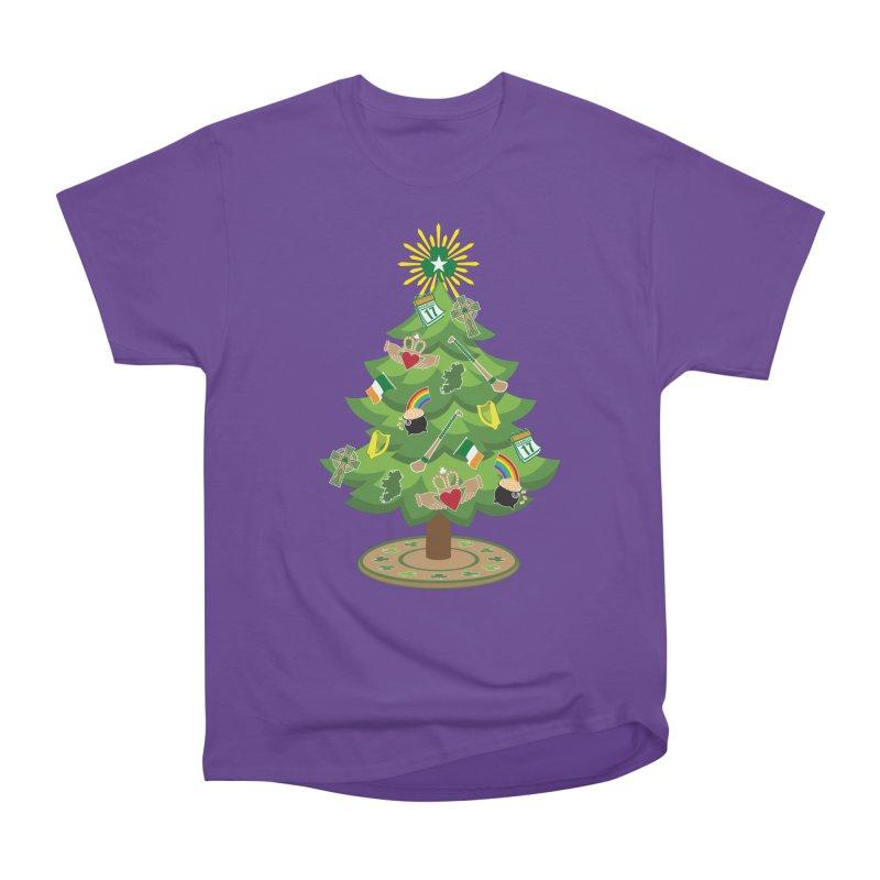 Irish Christmas Tree Men's Heavyweight T-Shirt by Brian Harms