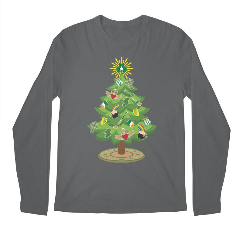 Irish Christmas Tree Men's Longsleeve T-Shirt by Brian Harms