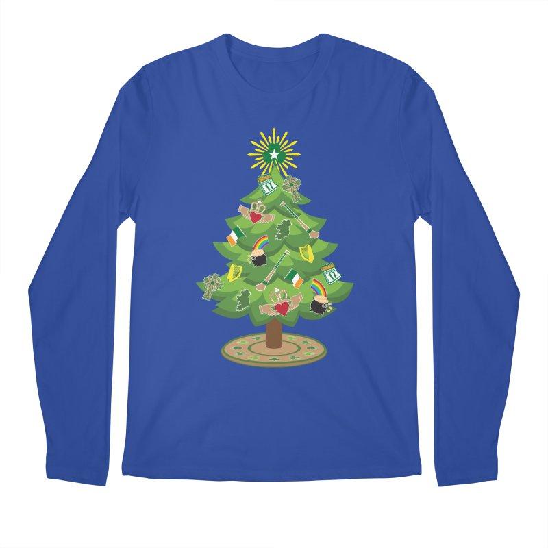Irish Christmas Tree Men's Regular Longsleeve T-Shirt by Brian Harms