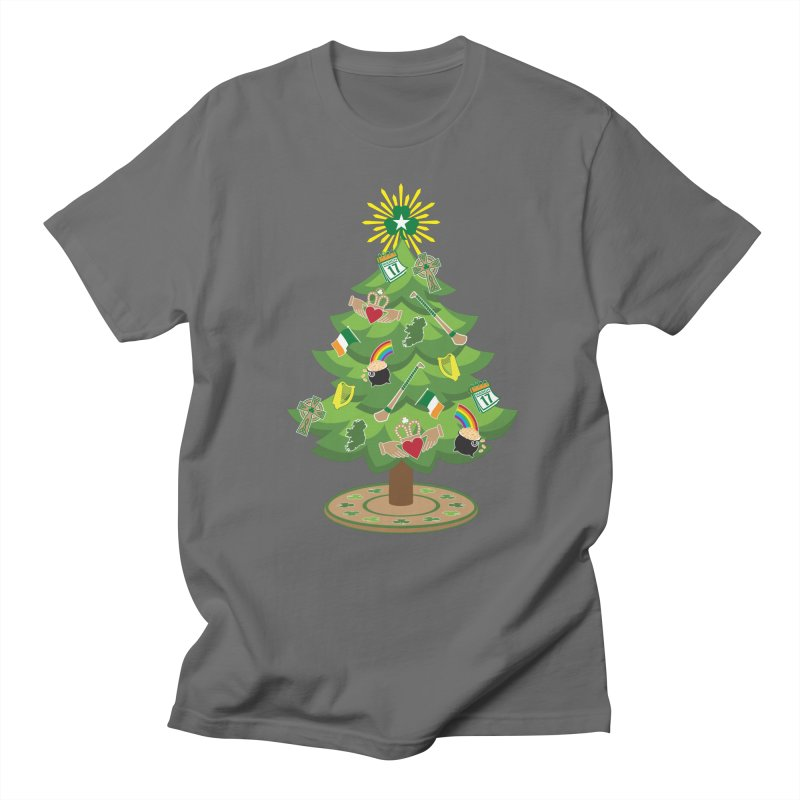Irish Christmas Tree Men's T-Shirt by Brian Harms