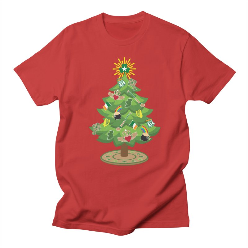 Irish Christmas Tree Men's Regular T-Shirt by Brian Harms