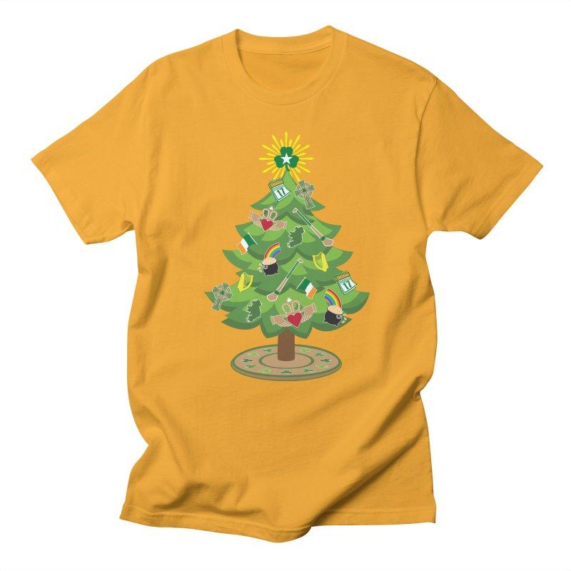 Irish Christmas Tree Women's Regular Unisex T-Shirt by Brian Harms