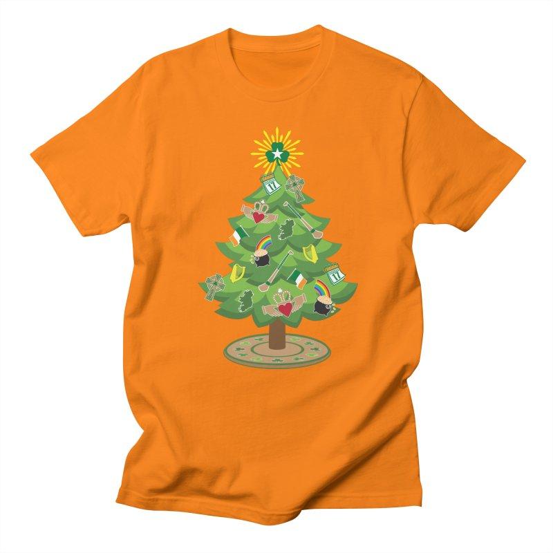Irish Christmas Tree Men's Regular T-Shirt by Brian Harms