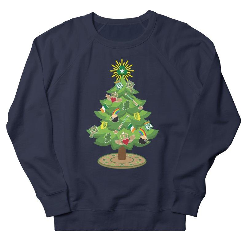 Irish Christmas Tree Women's French Terry Sweatshirt by Brian Harms