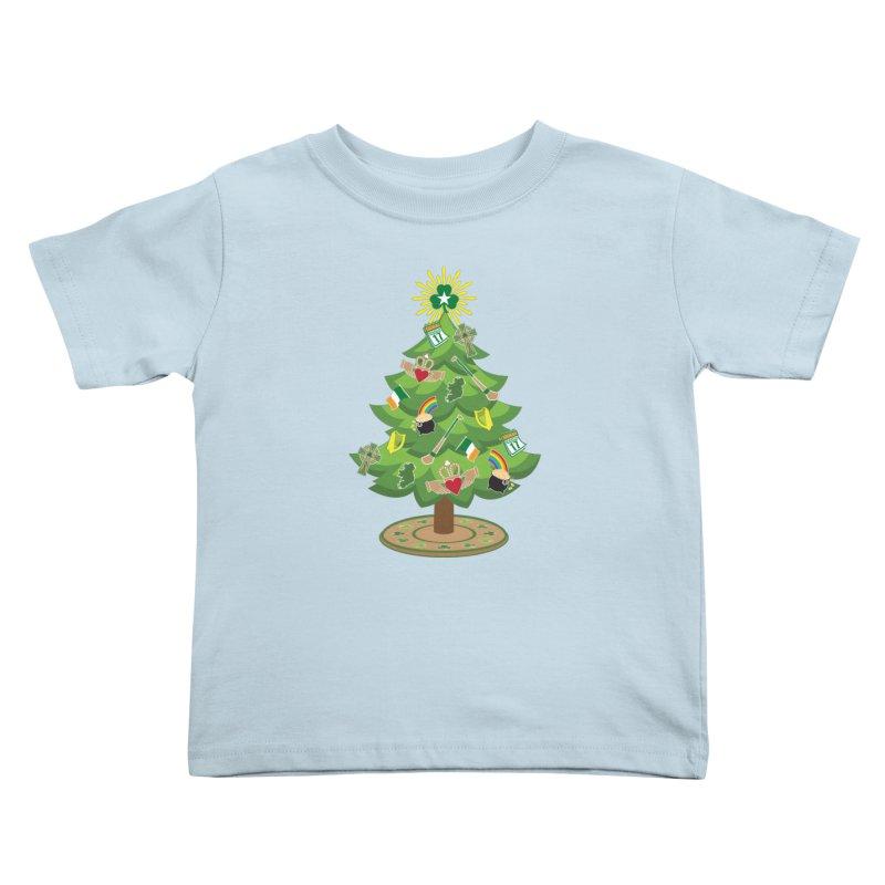 Irish Christmas Tree Kids Toddler T-Shirt by Brian Harms