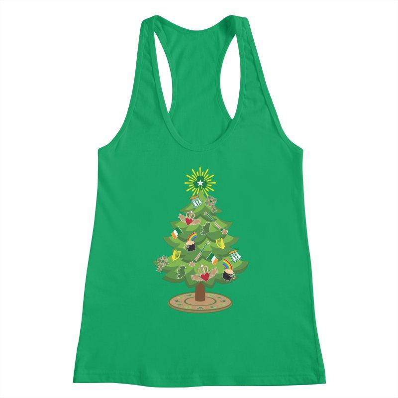 Irish Christmas Tree Women's Tank by Brian Harms