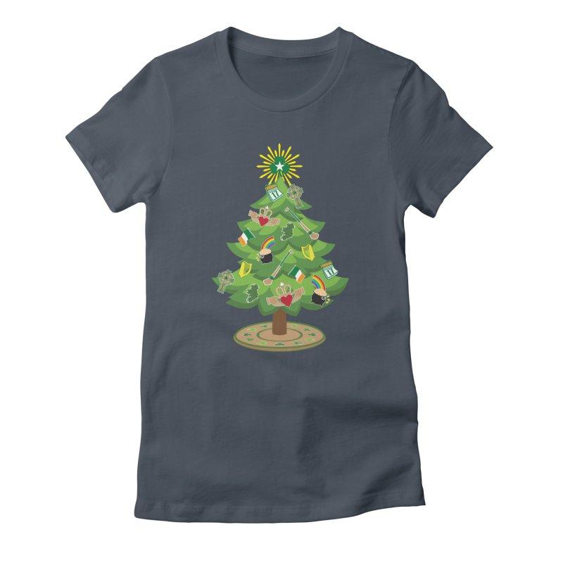 Irish Christmas Tree Women's T-Shirt by Brian Harms