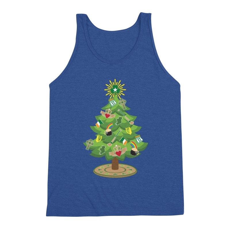 Irish Christmas Tree Men's Tank by Brian Harms