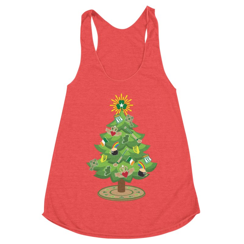 Irish Christmas Tree Women's Tank by Brian Harms