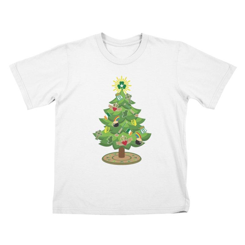 Irish Christmas Tree Kids T-Shirt by Brian Harms