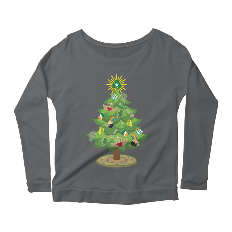 Irish Christmas Tree Women's Longsleeve T-Shirt by Brian Harms