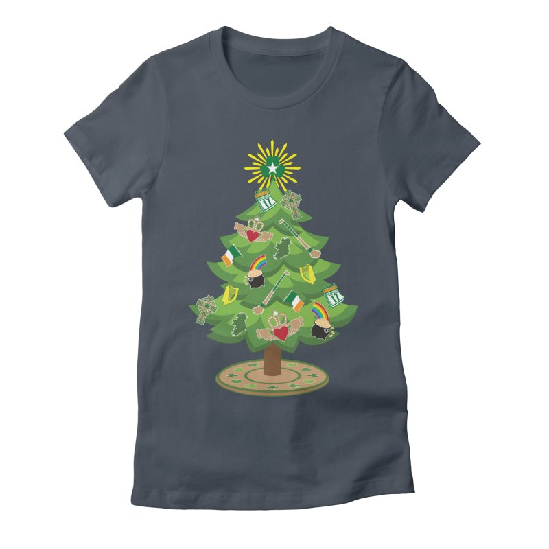 Irish Christmas Tree Women's T-Shirt by Brian Harms