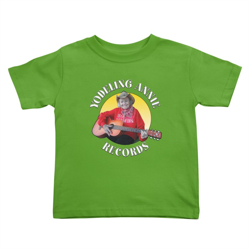 Yodeling Annie Records Kids Toddler T-Shirt by Brian Harms