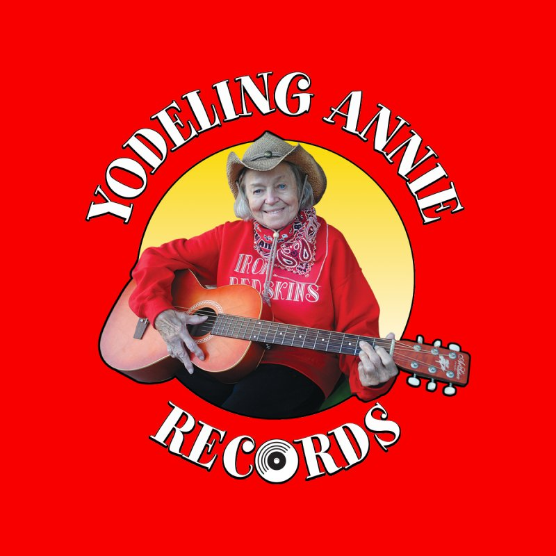 Yodeling Annie Records Women's Tank by Brian Harms