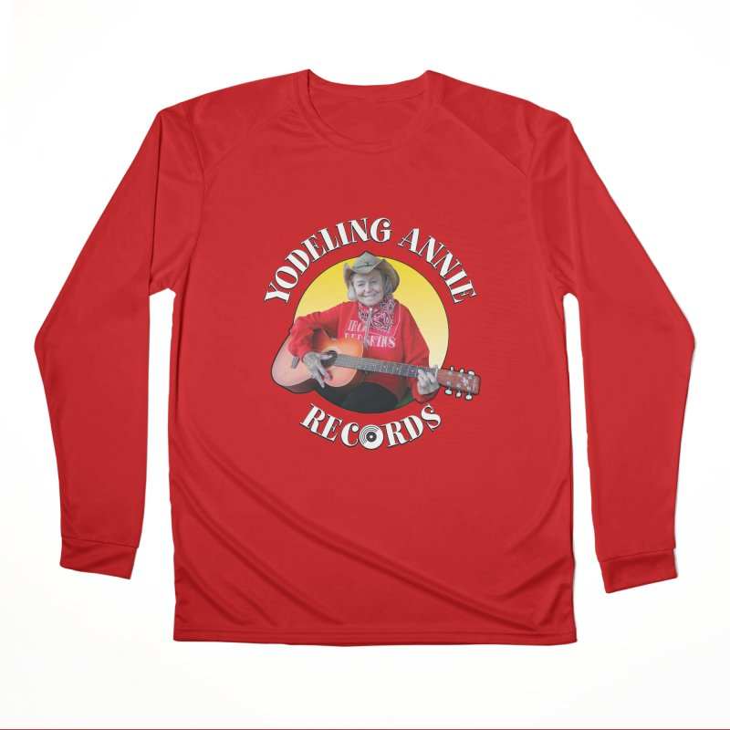 Yodeling Annie Records Women's Performance Unisex Longsleeve T-Shirt by Brian Harms