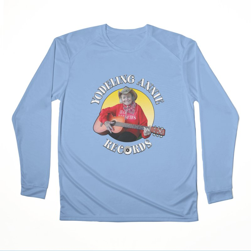 Yodeling Annie Records Women's Longsleeve T-Shirt by Brian Harms