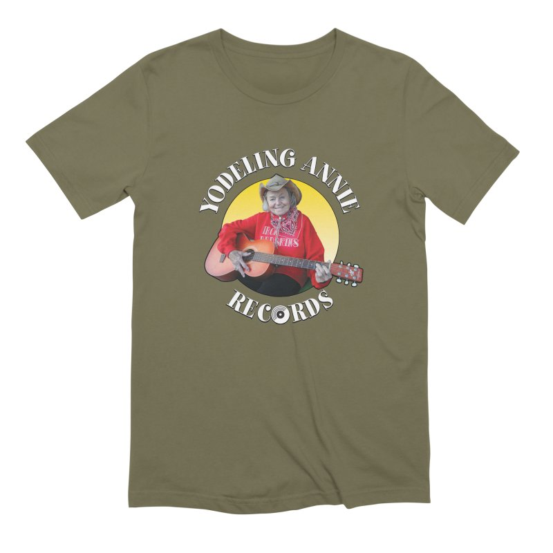 Yodeling Annie Records Men's Extra Soft T-Shirt by Brian Harms