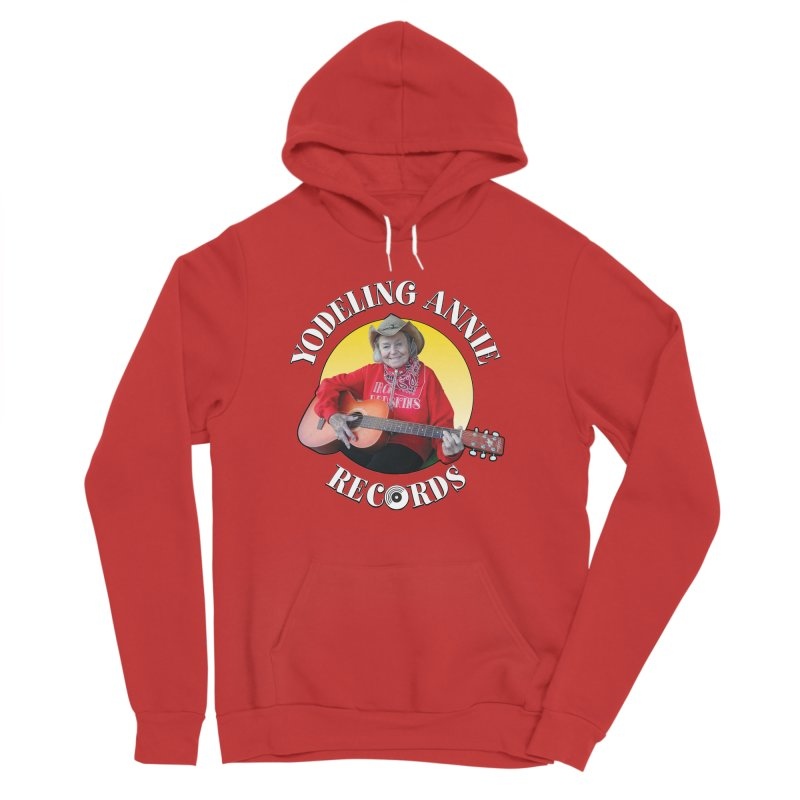 Yodeling Annie Records Women's Sponge Fleece Pullover Hoody by Brian Harms