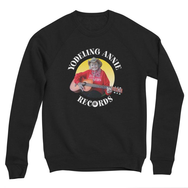 Yodeling Annie Records Women's Sponge Fleece Sweatshirt by Brian Harms