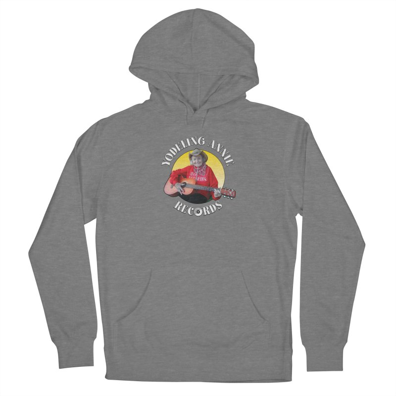 Yodeling Annie Records Women's Pullover Hoody by Brian Harms