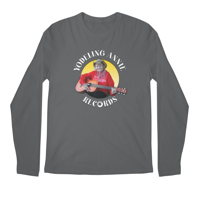 Yodeling Annie Records Men's Longsleeve T-Shirt by Brian Harms