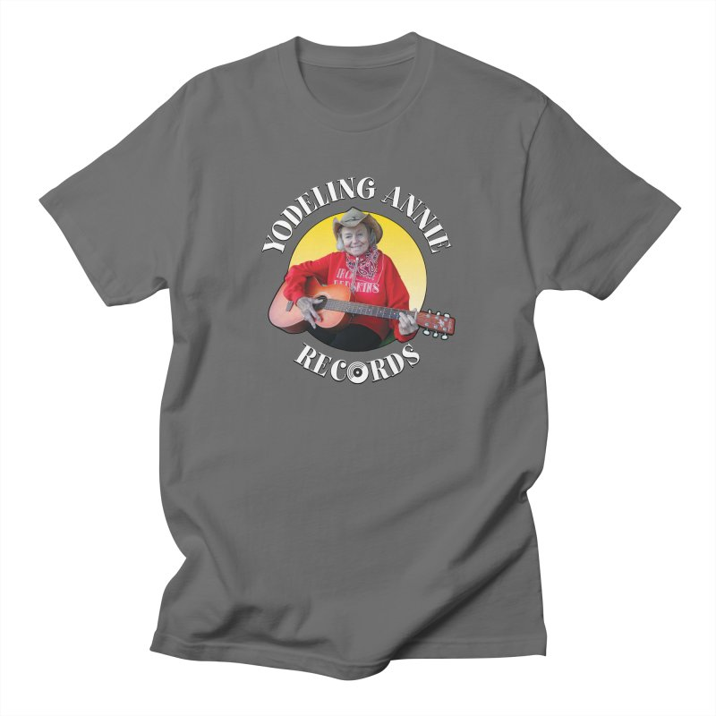 Yodeling Annie Records Men's T-Shirt by Brian Harms