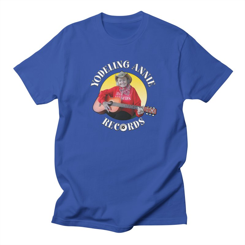 Yodeling Annie Records Women's Regular Unisex T-Shirt by Brian Harms