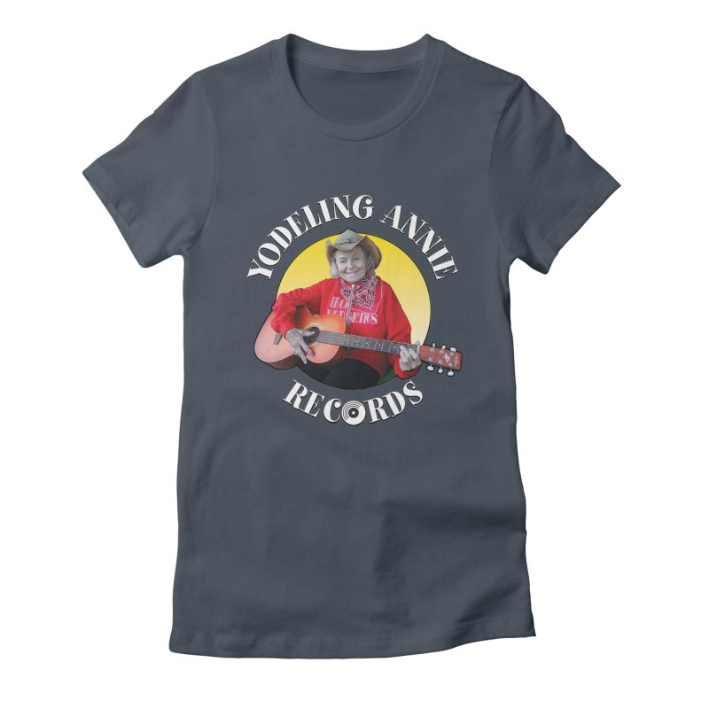 Yodeling Annie Records Women's T-Shirt by Brian Harms