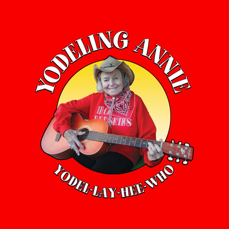 Yodeling Annie Accessories Sticker by Brian Harms
