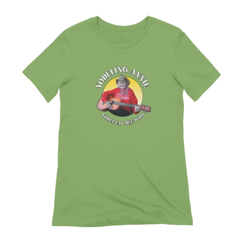 Yodeling Annie Women's Extra Soft T-Shirt by Brian Harms