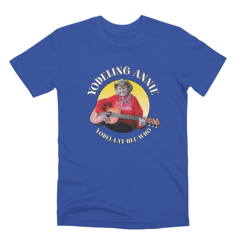 Yodeling Annie Men's Premium T-Shirt by Brian Harms