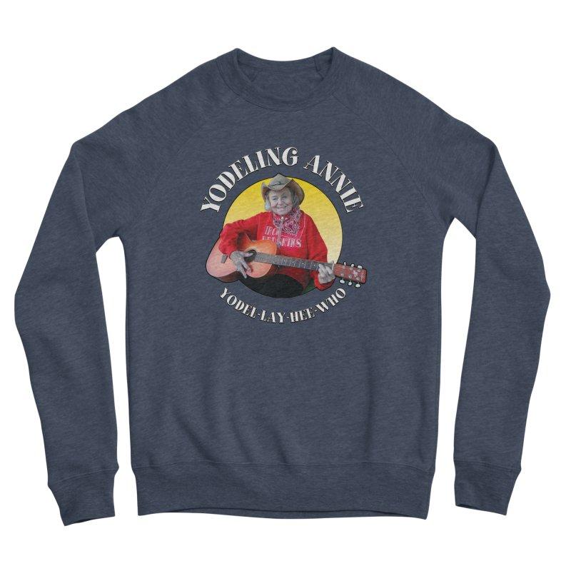 Yodeling Annie Women's Sponge Fleece Sweatshirt by Brian Harms