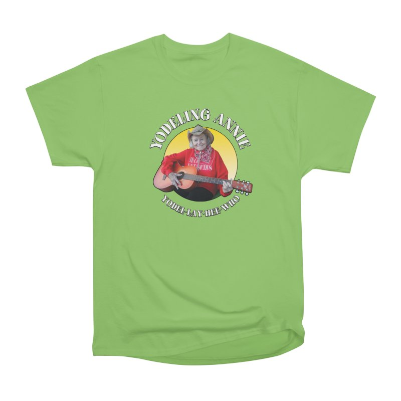 Yodeling Annie Men's T-Shirt by Brian Harms