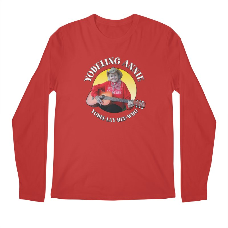 Yodeling Annie Men's Regular Longsleeve T-Shirt by Brian Harms