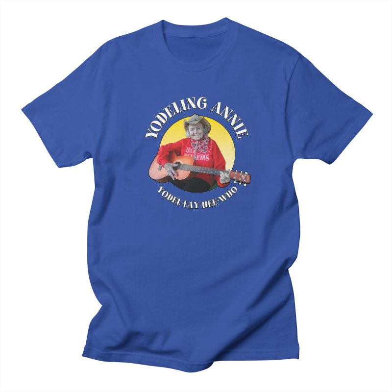 Yodeling Annie Women's Regular Unisex T-Shirt by Brian Harms