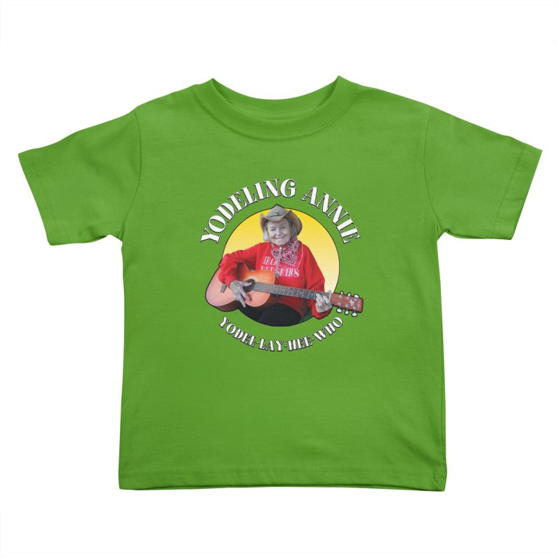 Yodeling Annie Kids Toddler T-Shirt by Brian Harms