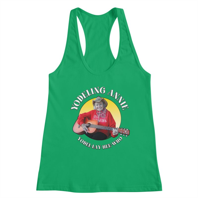 Yodeling Annie Women's Tank by Brian Harms