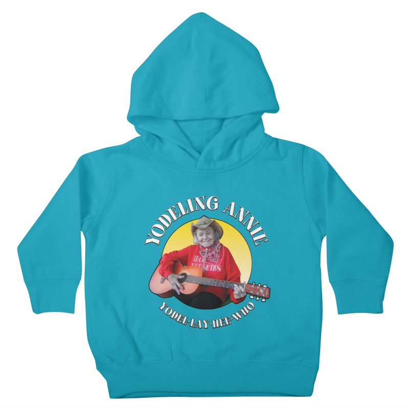 Yodeling Annie Kids Toddler Pullover Hoody by Brian Harms
