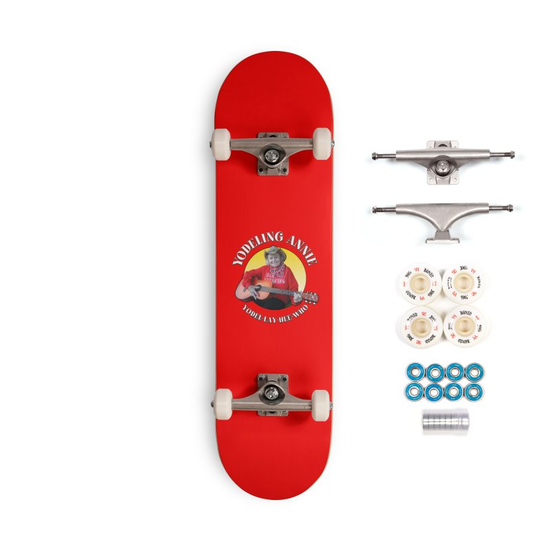 Yodeling Annie Accessories Complete - Premium Skateboard by Brian Harms