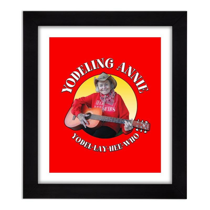 Yodeling Annie Home Framed Fine Art Print by Brian Harms