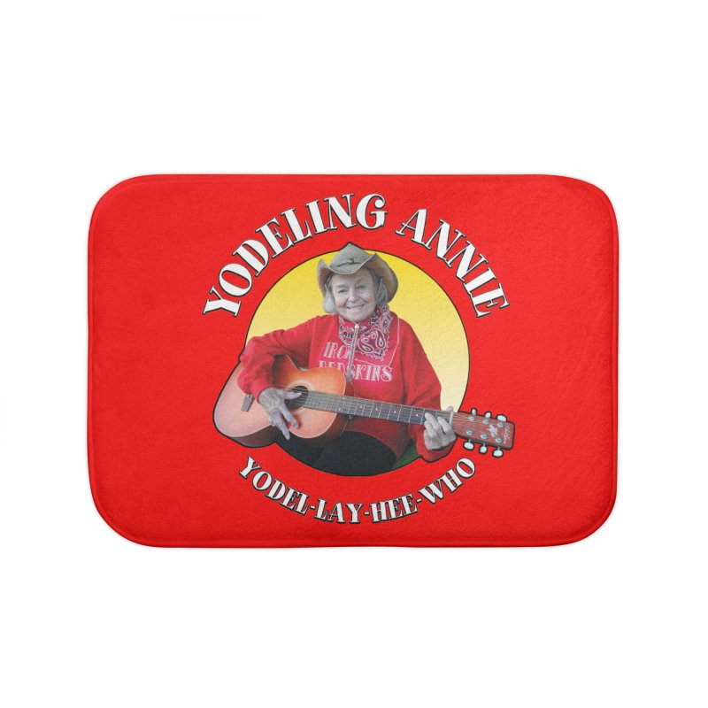 Yodeling Annie Home Bath Mat by Brian Harms