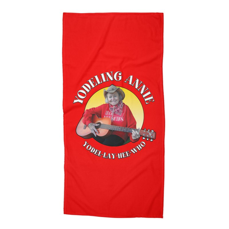 Yodeling Annie Accessories Beach Towel by Brian Harms