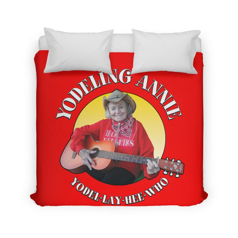 Yodeling Annie Home Duvet by Brian Harms