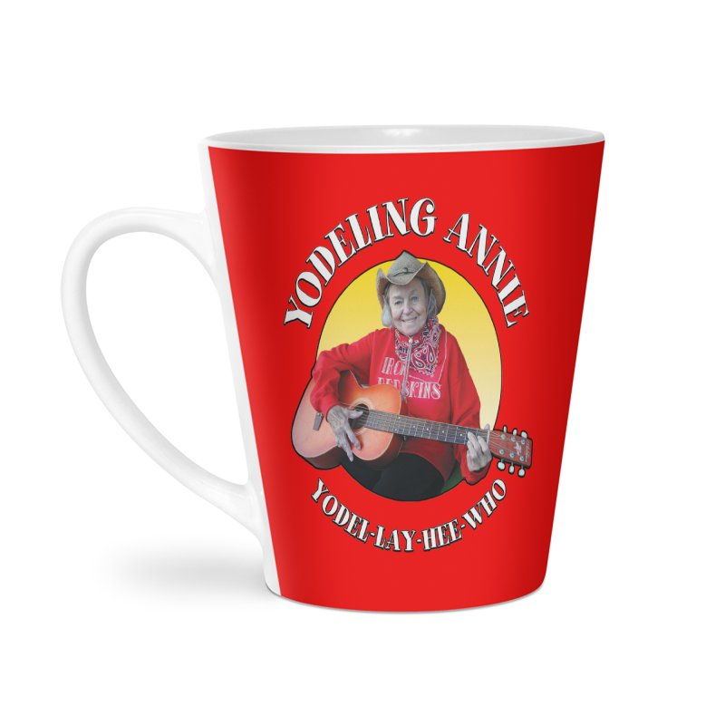 Yodeling Annie Accessories Latte Mug by Brian Harms