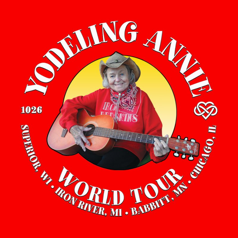 Yodeling Annie World Tour Women's Pullover Hoody by Brian Harms