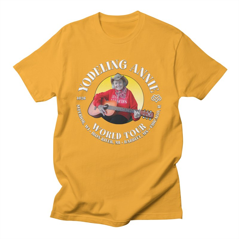 Yodeling Annie World Tour Men's T-Shirt by Brian Harms