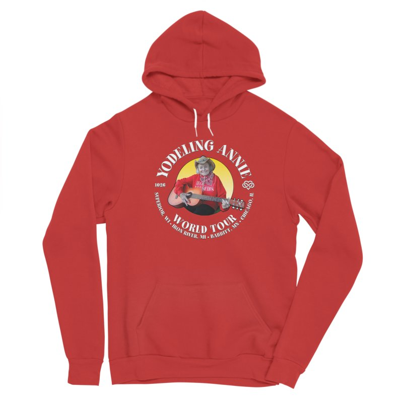 Yodeling Annie World Tour Men's Pullover Hoody by Brian Harms