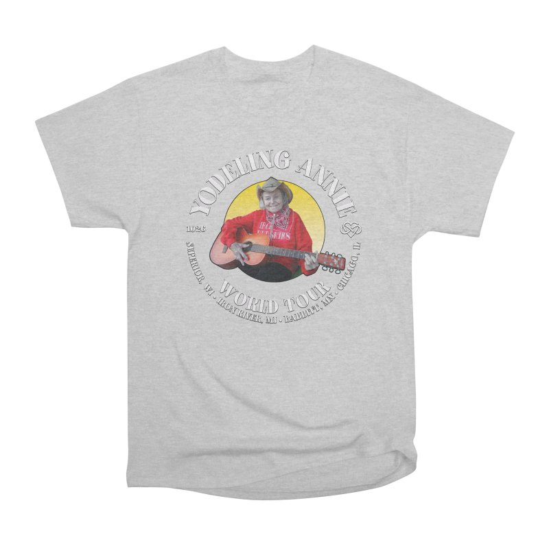 Yodeling Annie World Tour Men's Heavyweight T-Shirt by Brian Harms