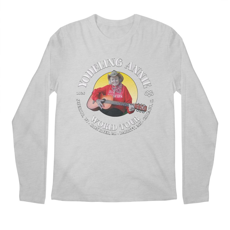 Yodeling Annie World Tour Men's Longsleeve T-Shirt by Brian Harms