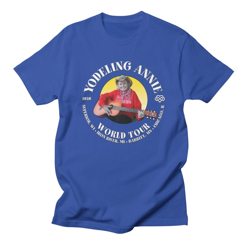 Yodeling Annie World Tour Men's Regular T-Shirt by Brian Harms